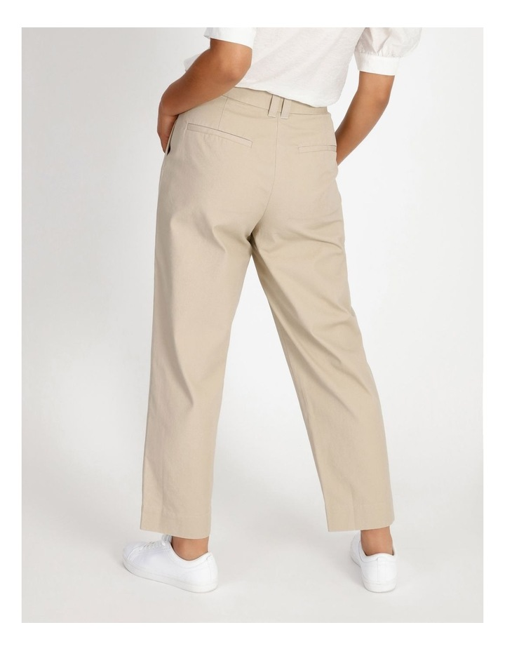 Pleat Front Tapered Pant image 3