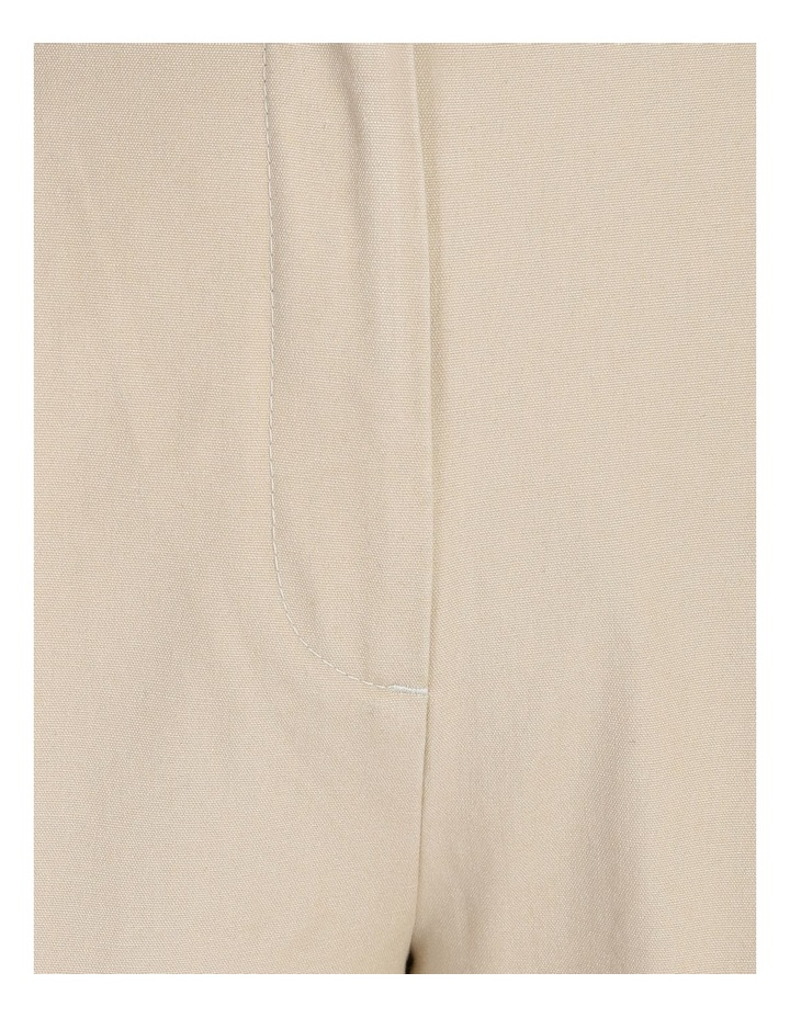 Pleat Front Tapered Pant image 5