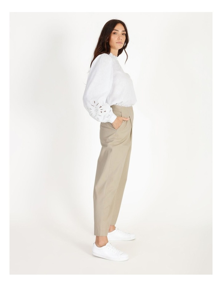 Pleat Front Tapered Pant image 2