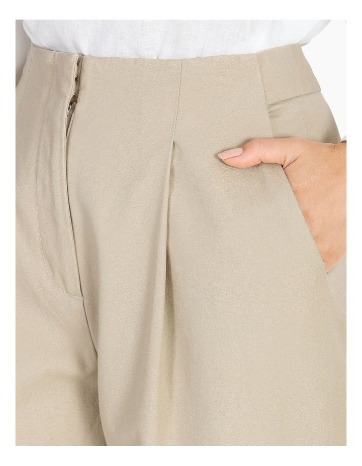Pleat Front Tapered Pant image 4