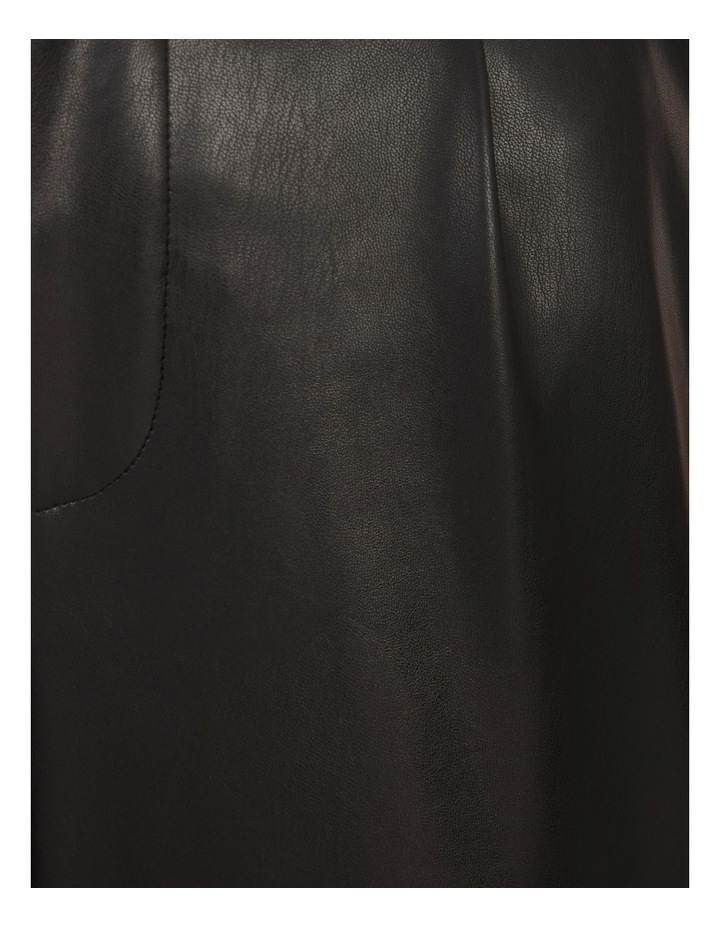 Vegan Leather Tapered Pant image 5