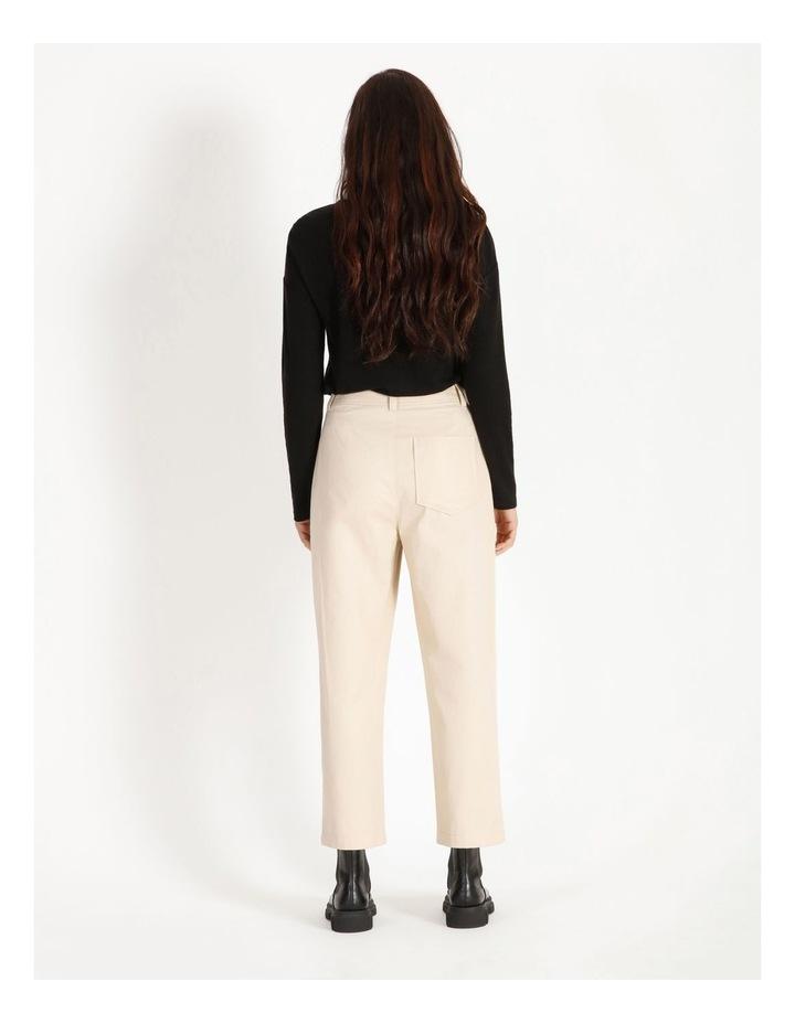 High Waist Straight Leg Pant image 3