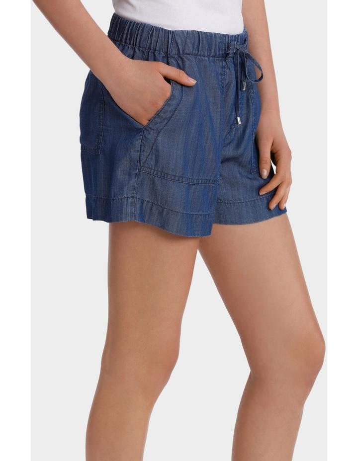 Short Tencel with tie waist image 2