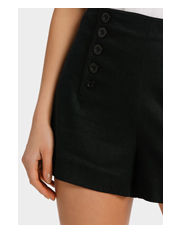 Piper - Cullotte Short with Button detail