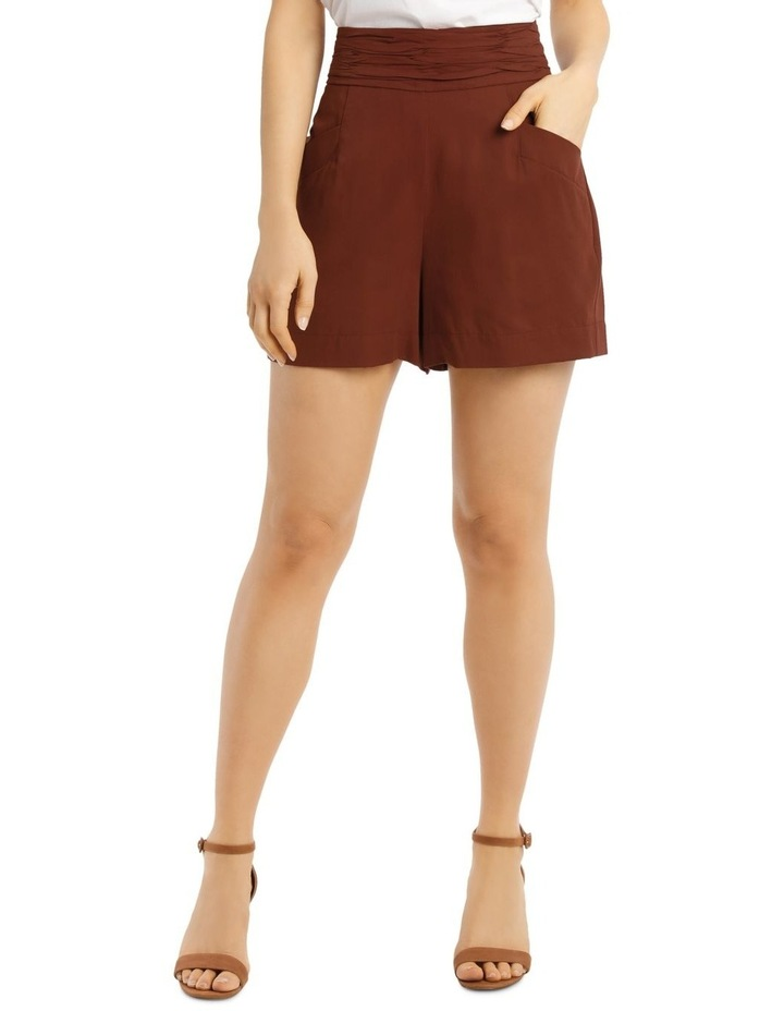 Short with Rouched Waist Band image 1