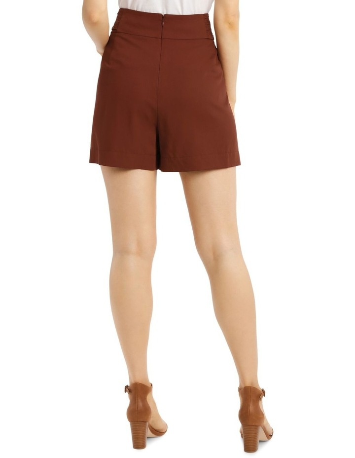Short with Rouched Waist Band image 3
