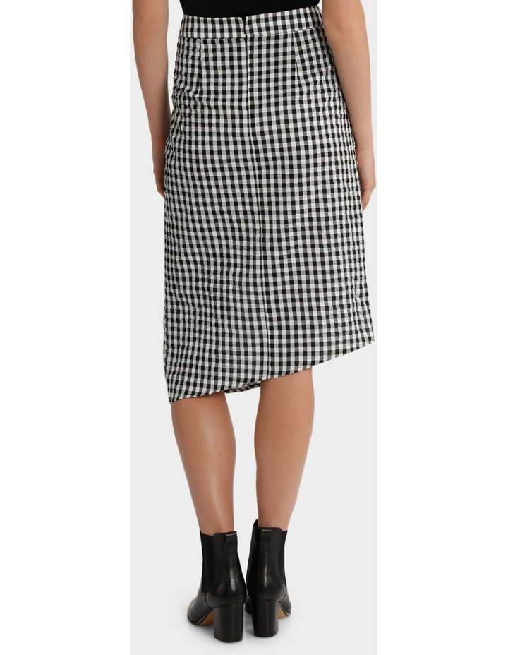 Gingham Skirt with Ruffle Detail image 3