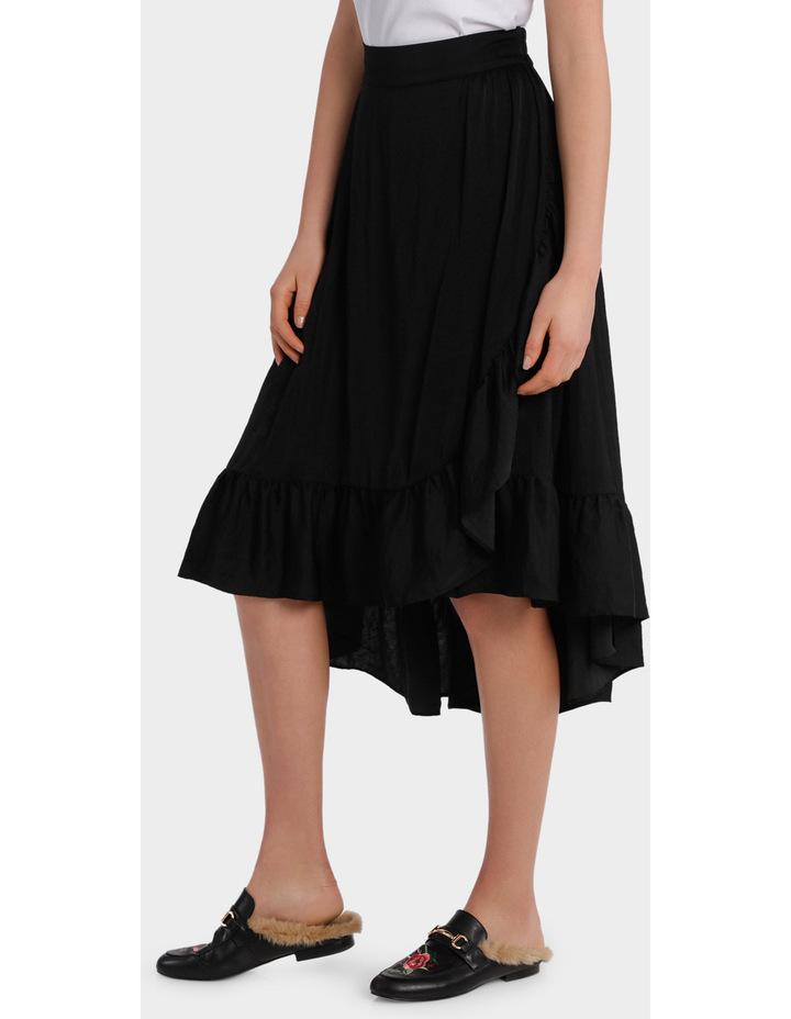 Skirt ruffle long midi image 2
