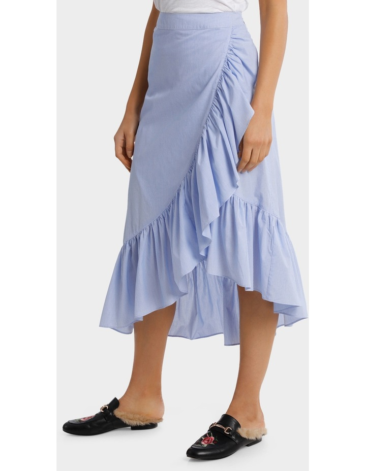 Skirt Ruffle Stripe image 2