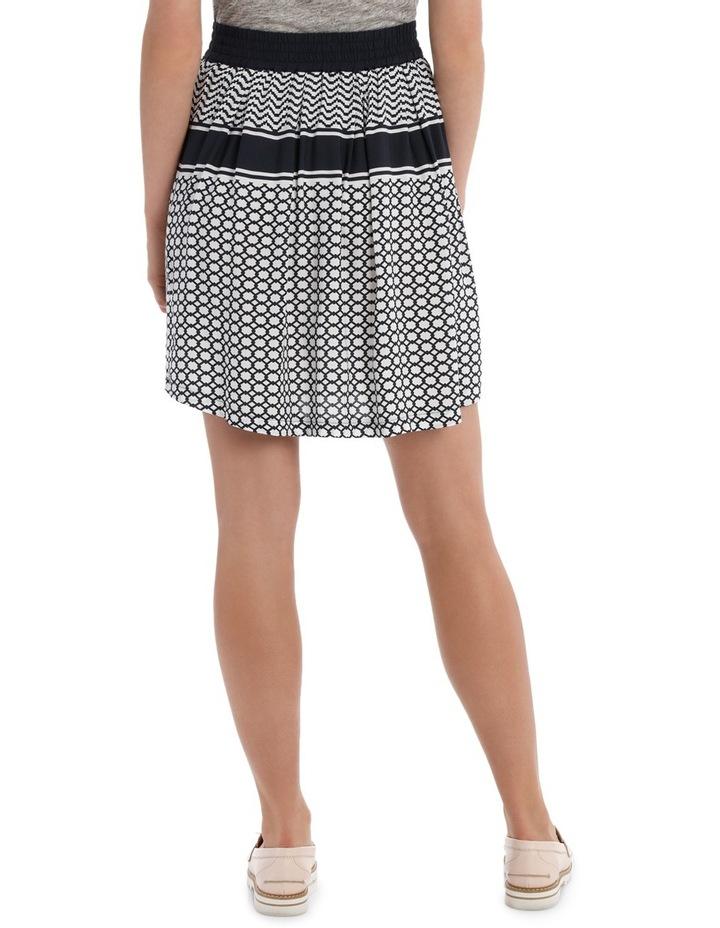 Skirt print flippy Geo Print image 3