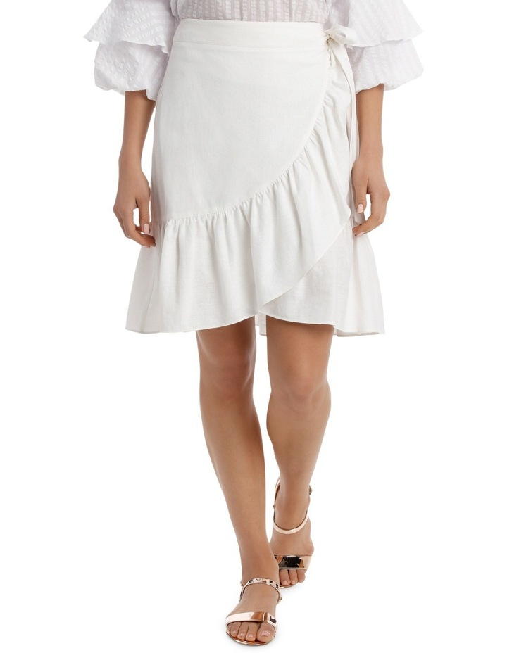 Skirt Ruffle Knee Length image 1