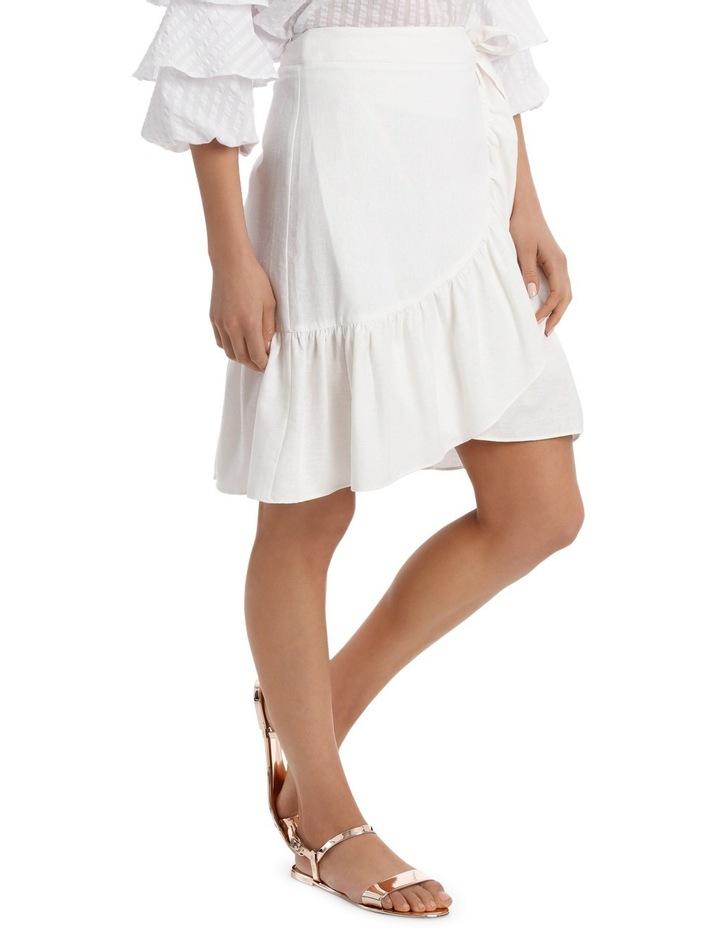 Skirt Ruffle Knee Length image 2