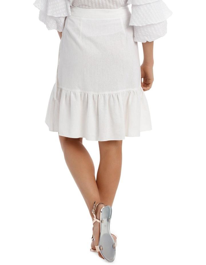 Skirt Ruffle Knee Length image 3