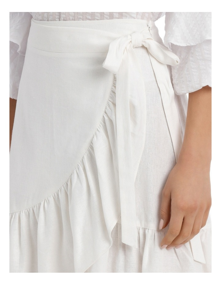 Skirt Ruffle Knee Length image 4