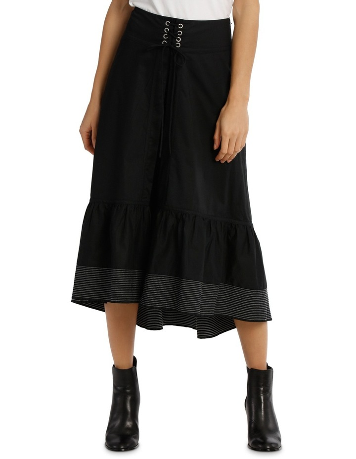 Skirt With Contrasting Stitching image 1