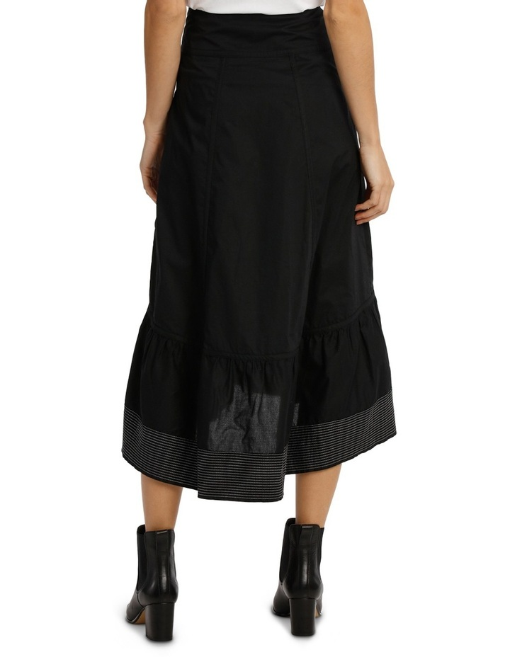 Skirt With Contrasting Stitching image 3