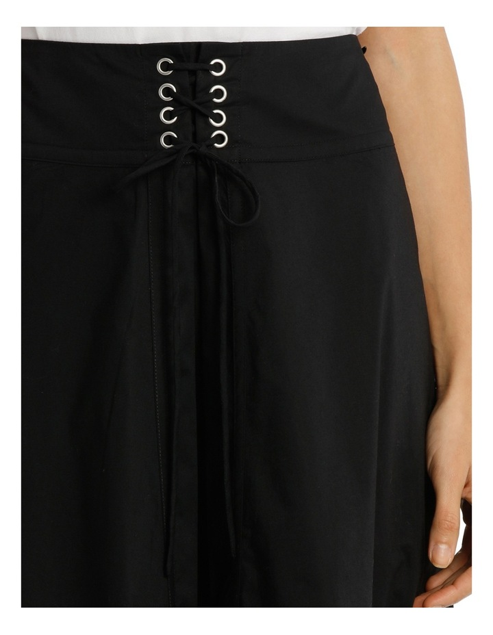 Skirt With Contrasting Stitching image 4