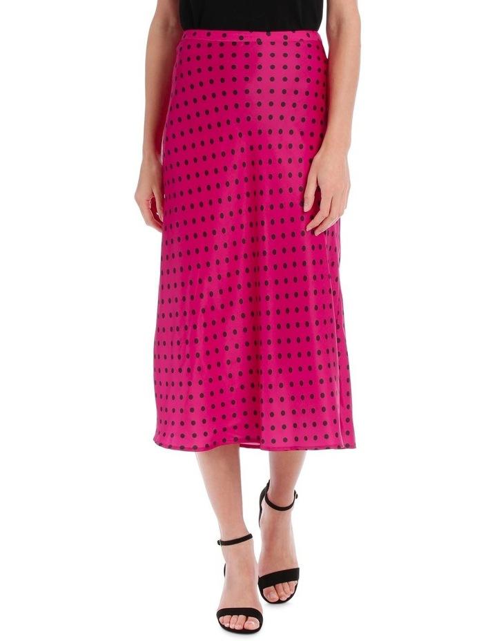 Skirt Polka Dot bias cut image 1