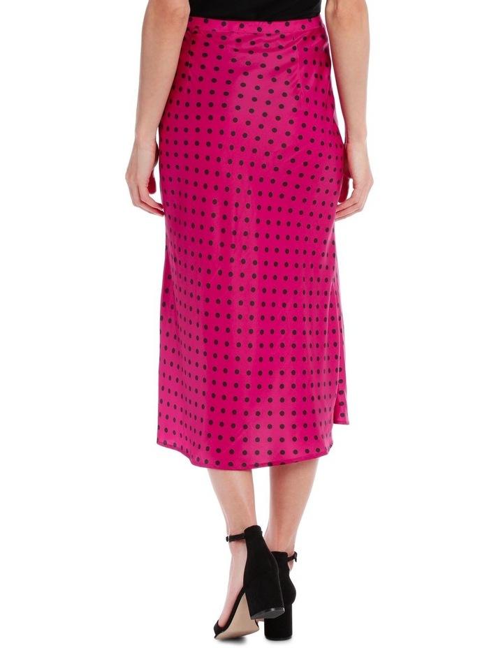 Skirt Polka Dot bias cut image 2
