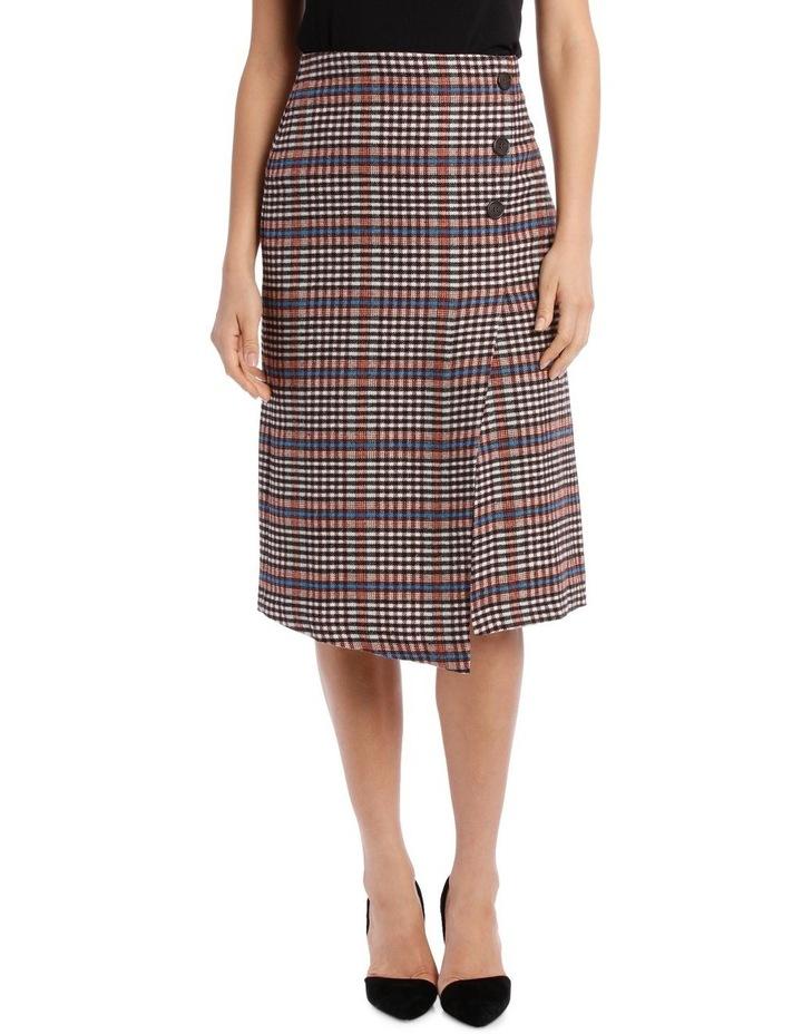 Skirt Longline Asymmetrical Hem image 1
