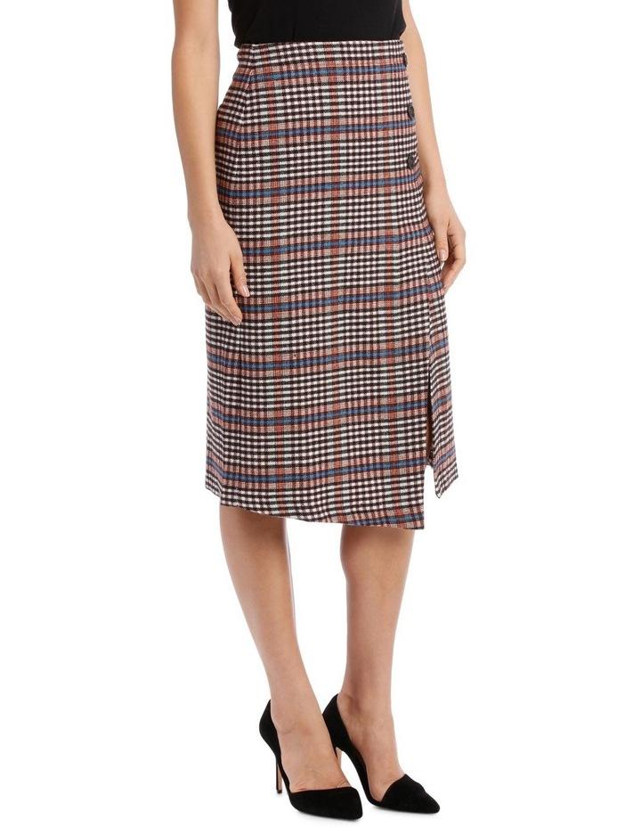 Skirt Longline Asymmetrical Hem image 2