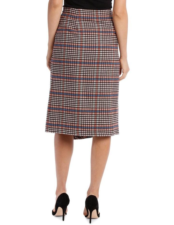 Skirt Longline Asymmetrical Hem image 3