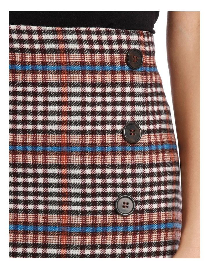 Skirt Longline Asymmetrical Hem image 4
