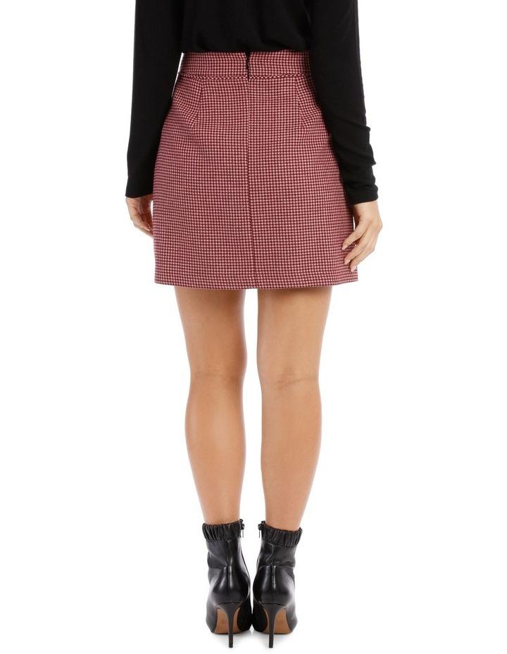 Above Knee Check Skirt image 3