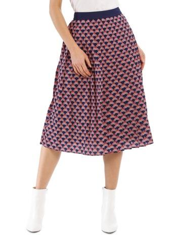 0f058f39e7 Piper Pleated Geo Skirt