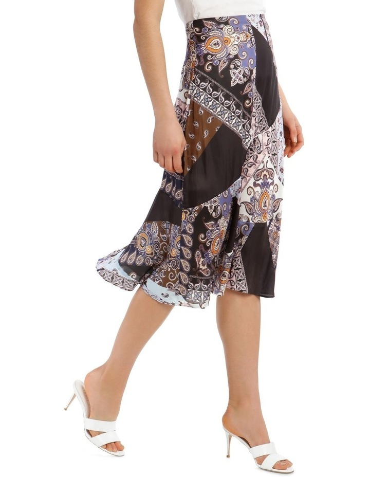 Multi Patchwork Midi Skirt image 2
