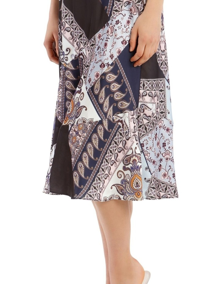 Multi Patchwork Midi Skirt image 4