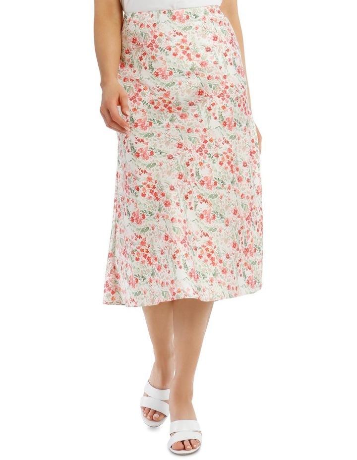 Printed Bias Cut Skirt image 1