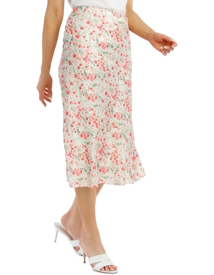 Printed Bias Cut Skirt image 2