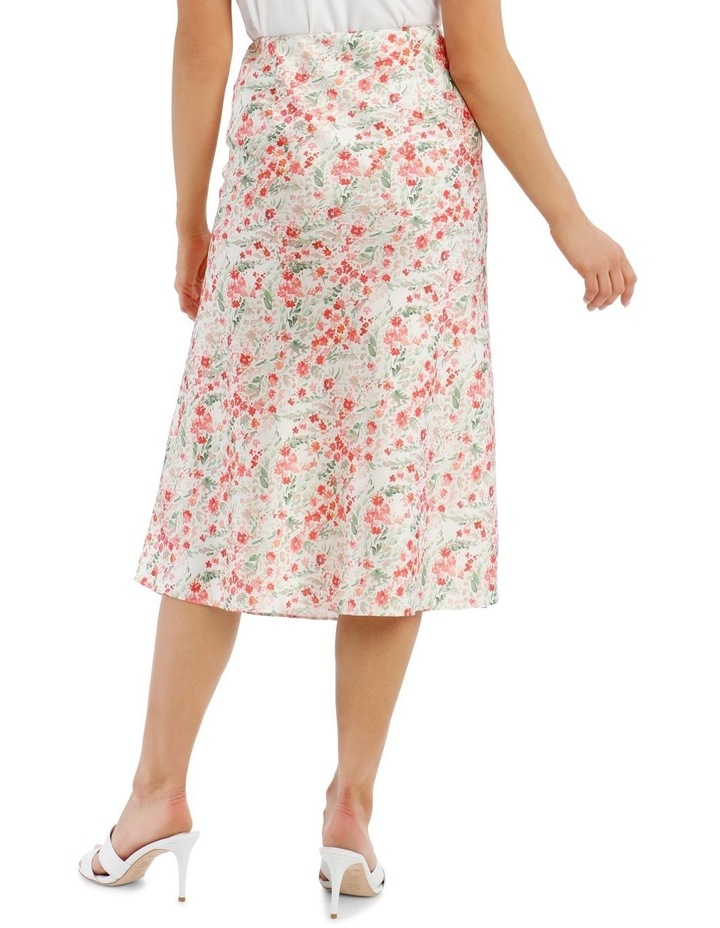 Printed Bias Cut Skirt image 3