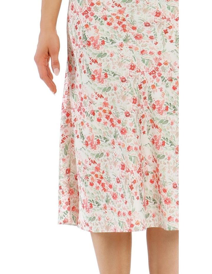 Printed Bias Cut Skirt image 4