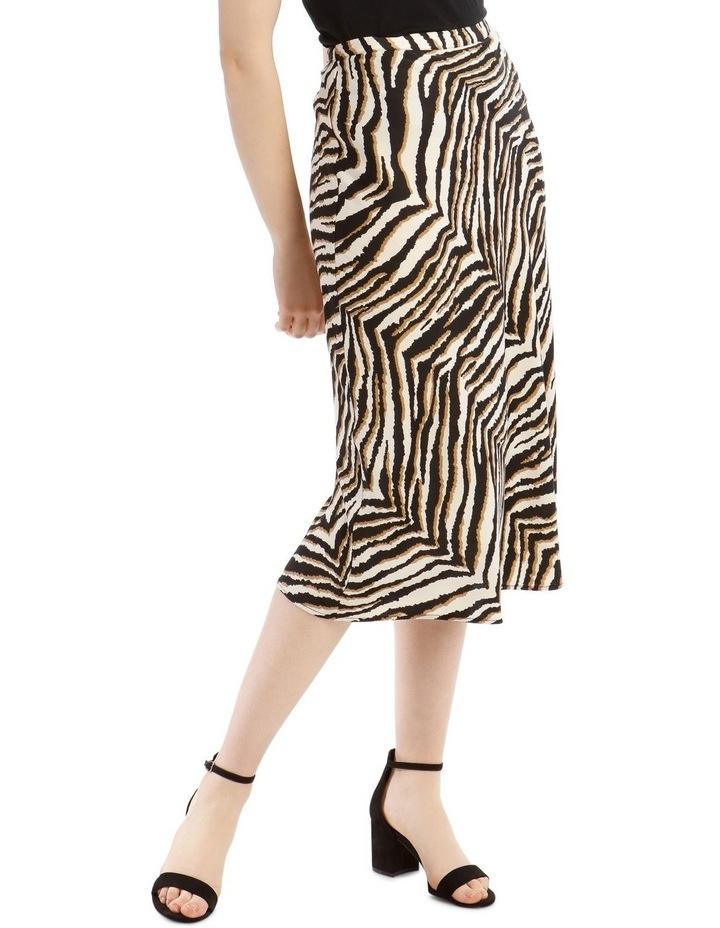 Animal Printed Bias Skirt image 1