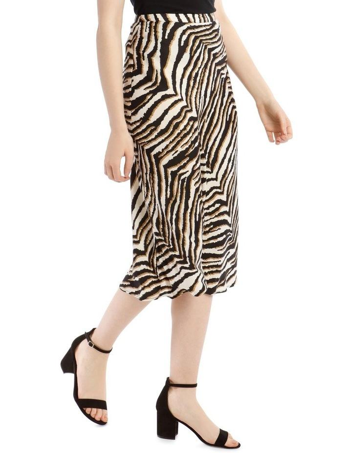 Animal Printed Bias Skirt image 2