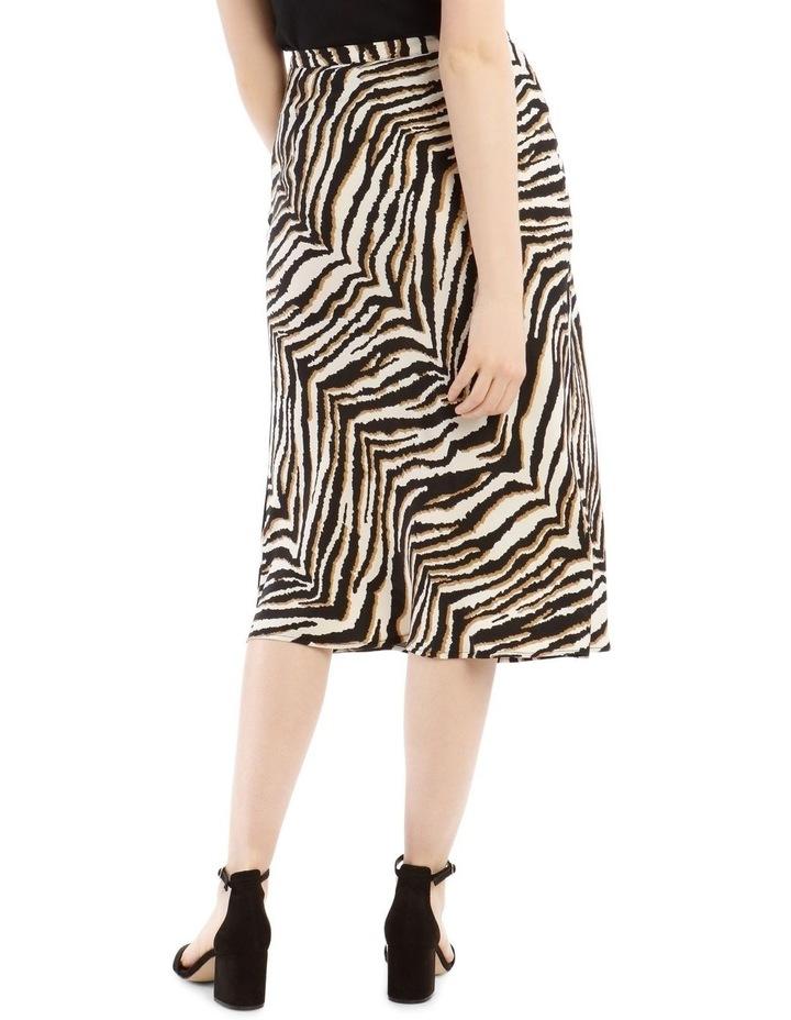 Animal Printed Bias Skirt image 3