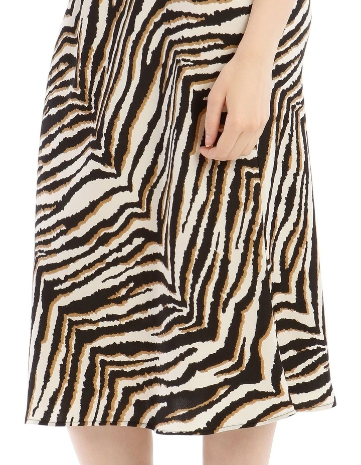 Animal Printed Bias Skirt image 4