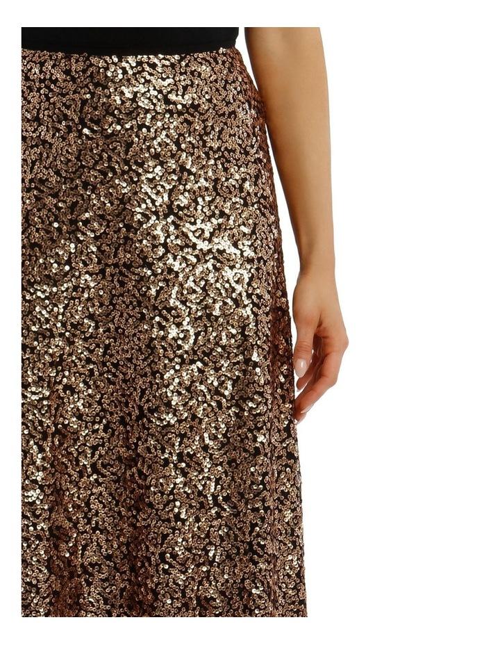 Sequinned Midi Skirt image 4