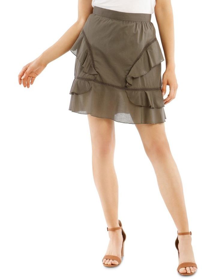 Ruffle Mini Skirt image 1