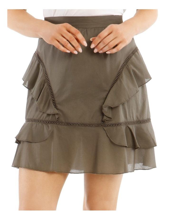 Ruffle Mini Skirt image 4