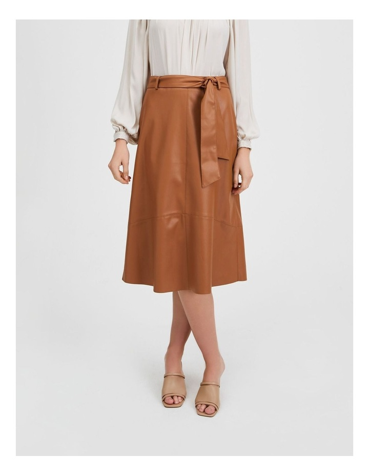 Tan Pu Midi Skirt image 1
