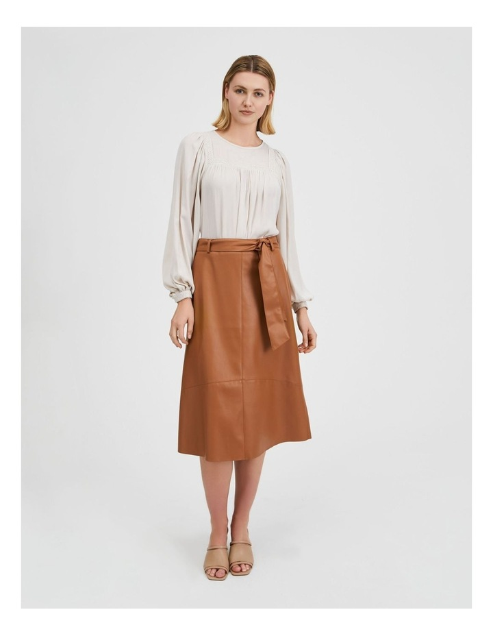 Tan Pu Midi Skirt image 2