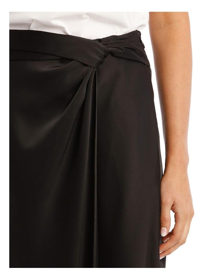 Black Satin Skirt image 4