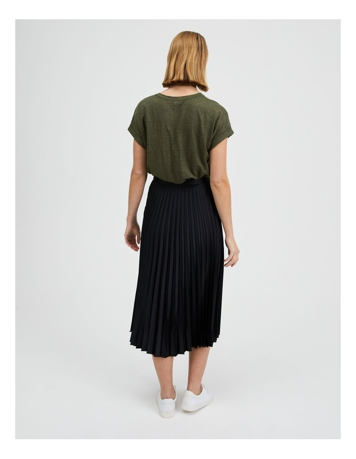 Pleated Midi Skirt image 3