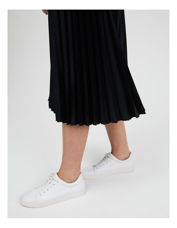 Pleated Midi Skirt image 5