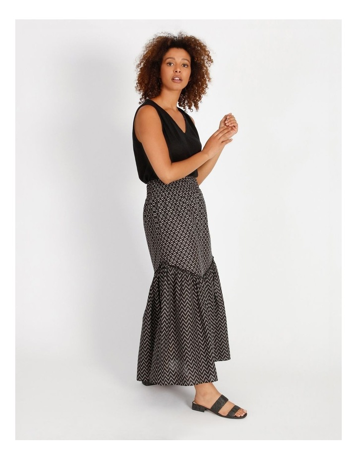 Tiered Maxi Skirt image 2