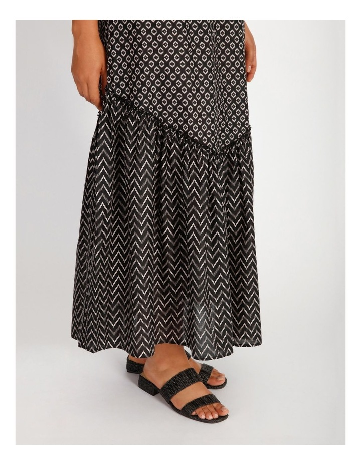 Tiered Maxi Skirt image 4