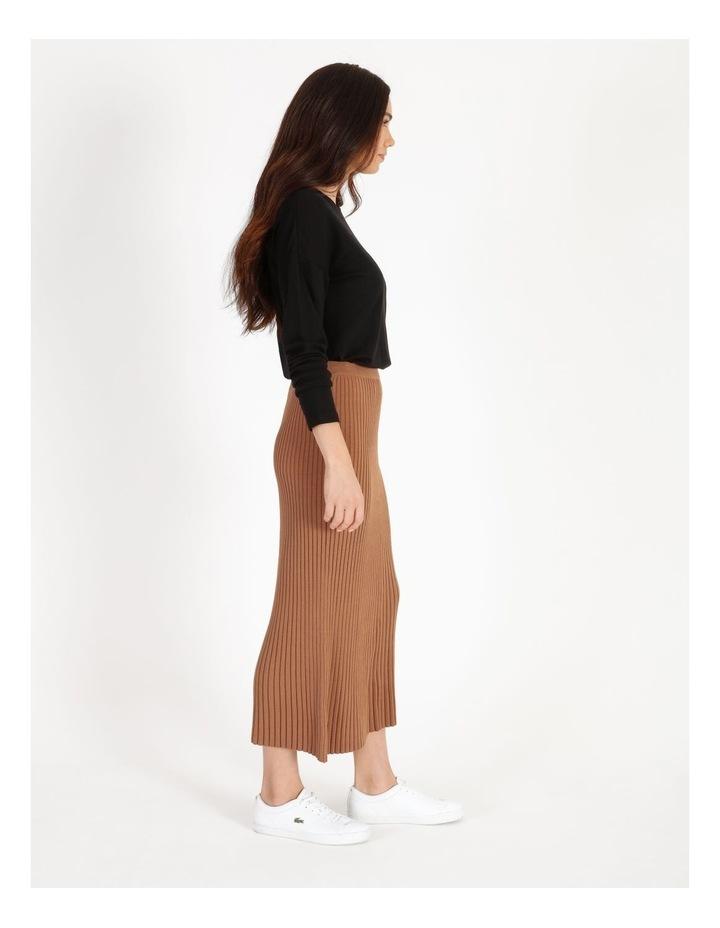 Midi Knit Skirt image 2